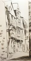 Artwork preview : Deschamps : Nantes, rue Bossuet