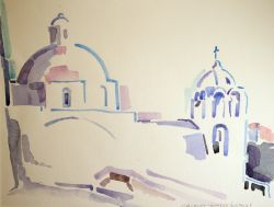 Artwork preview : Watercolors, L'église du Christ