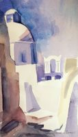 Artwork preview : Watercolors, L'église Haghios Minas