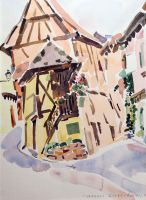 Artwork preview : Eguisheim