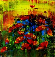 Artwork preview : Paintings, Nelu : POPPIES