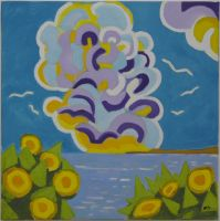Artwork preview : Paintings, Breteau : Les nuages