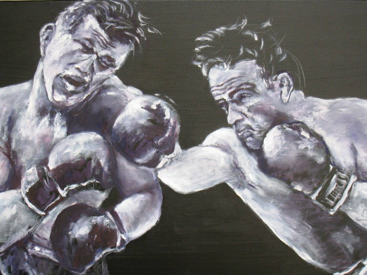 Artwork picture : Dawy, Marcel Cerdan