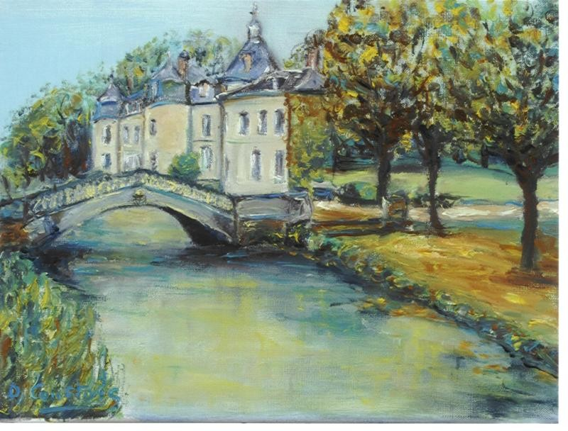 Artwork picture : Dawy, chateau
