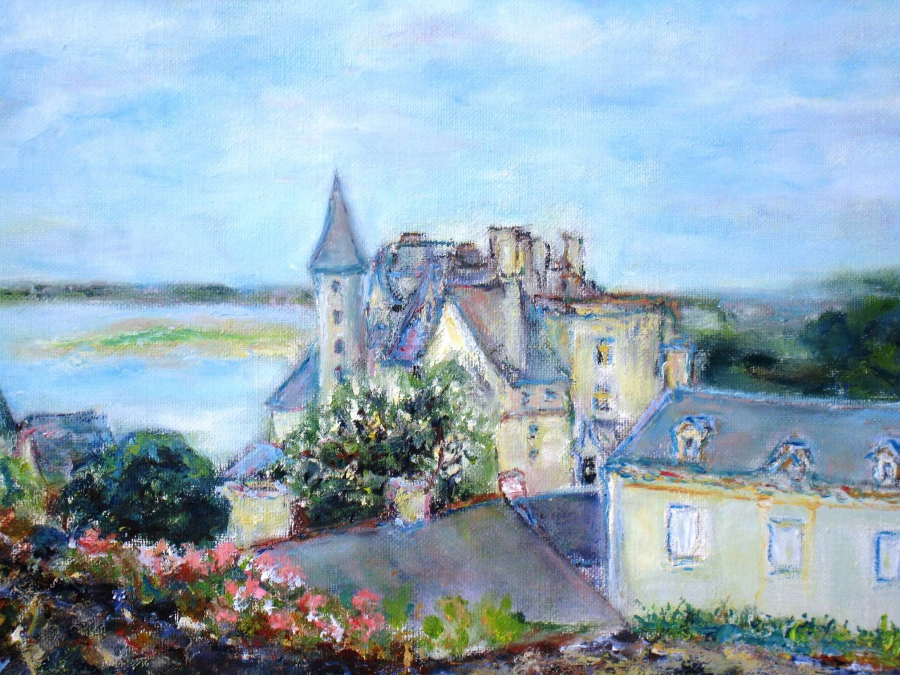 Artwork picture : Dawy, Montsoreau