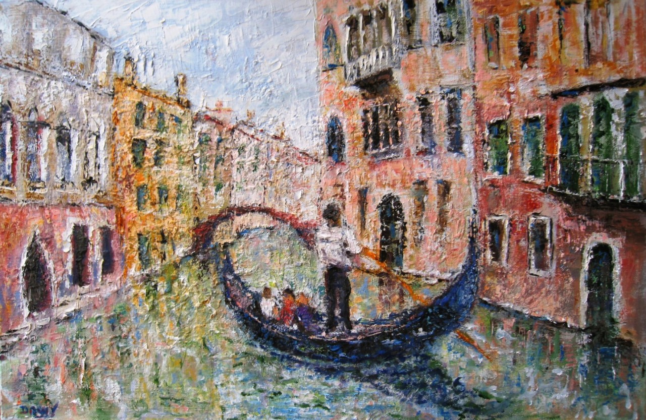 Artwork picture : Dawy, Venise