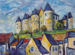 Artwork preview : chateau  luynes