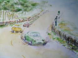 Artwork preview : Watercolors, 24 heures du mans