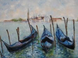 Artwork preview : Dawy : Les gondolles de Venise...