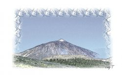 Artwork preview : Prints, Tenerife Spain Mount Teide