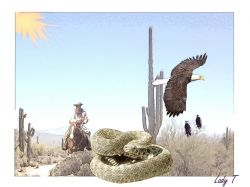 Artwork preview : Desert Cowboy