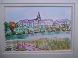 Artwork preview : Watercolors, Toublanc : Chateau Lavallière (37)
