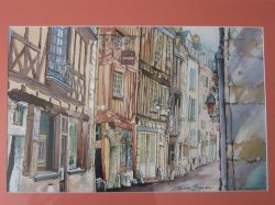 Artwork preview : Watercolors, Grande rue