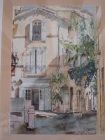 Artwork preview : Watercolors, Façades du sud