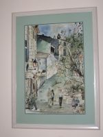 Artwork preview : Watercolors, Ruelle des Baux de Provence