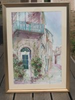 Artwork preview : Watercolors, Façades de Monflanquin