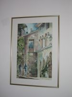 Artwork preview : Watercolors, Ruelle de Provence