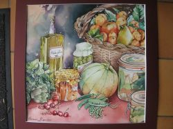 Artwork preview : Watercolors, Fruits et légumes