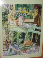 Artwork preview : Watercolors, Chaise verte