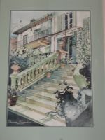 Artwork preview : Watercolors, Escalier n°2