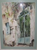 Artwork preview : Watercolors, Grille du Vieux Mans