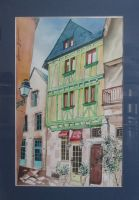 Artwork preview : Watercolors, Rigaudeau : appartement place du Vieux Mans