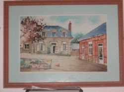 Artwork preview : Watercolors, Rigaudeau : école privée de montfort le gesnois