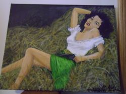 Artwork preview : Jane Russell.