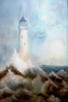 Artwork preview : Paintings, Lighthouse