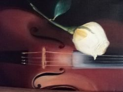 Artwork preview : Gradeanu : VIOLIN & ROSE