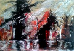 Artwork preview : Oil Painting, Les docks