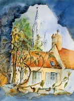 Artwork preview : Watercolors, Senlis