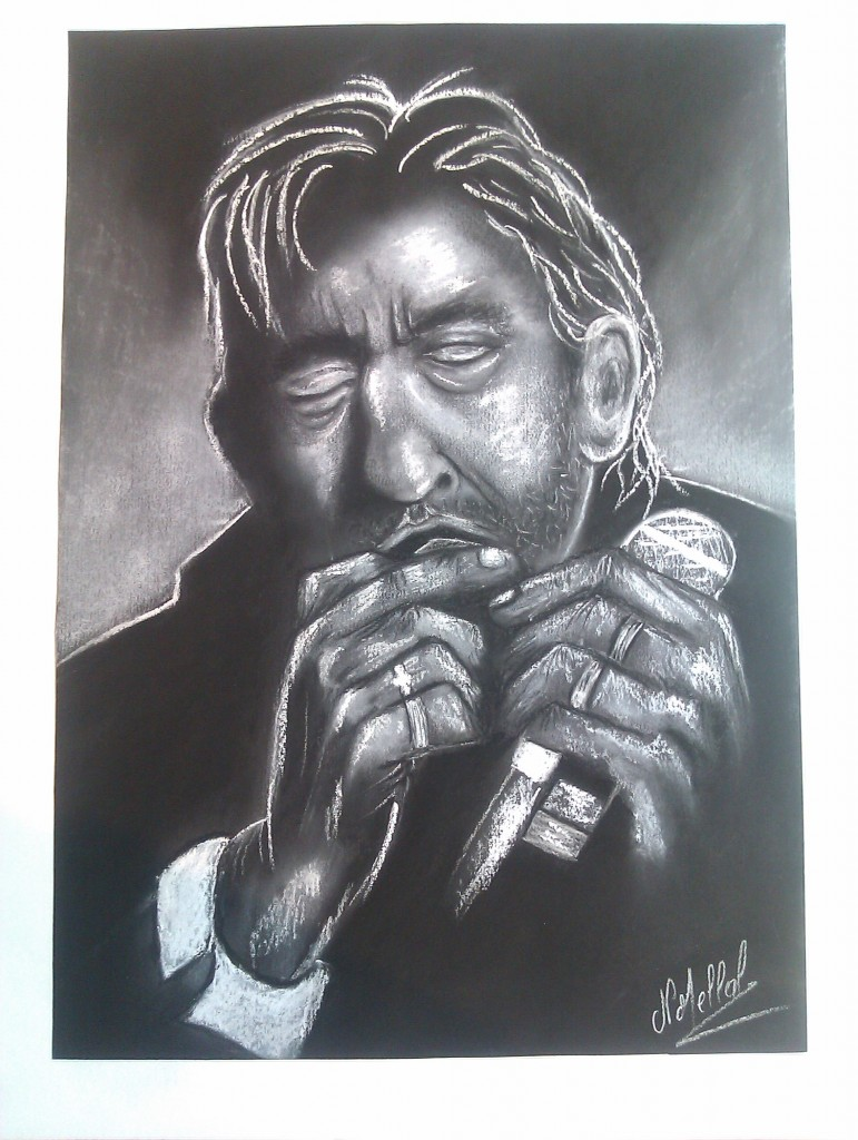 Artwork picture : Nathalie Mellal, SERGE GAINSBOURG